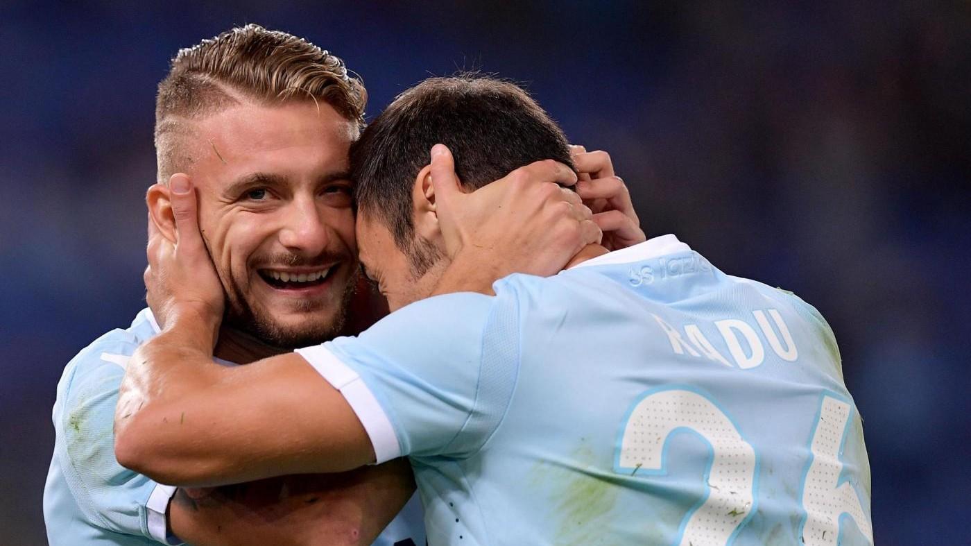 Serie A, Lazio-Cagliari 3-0 / Il fotoracconto