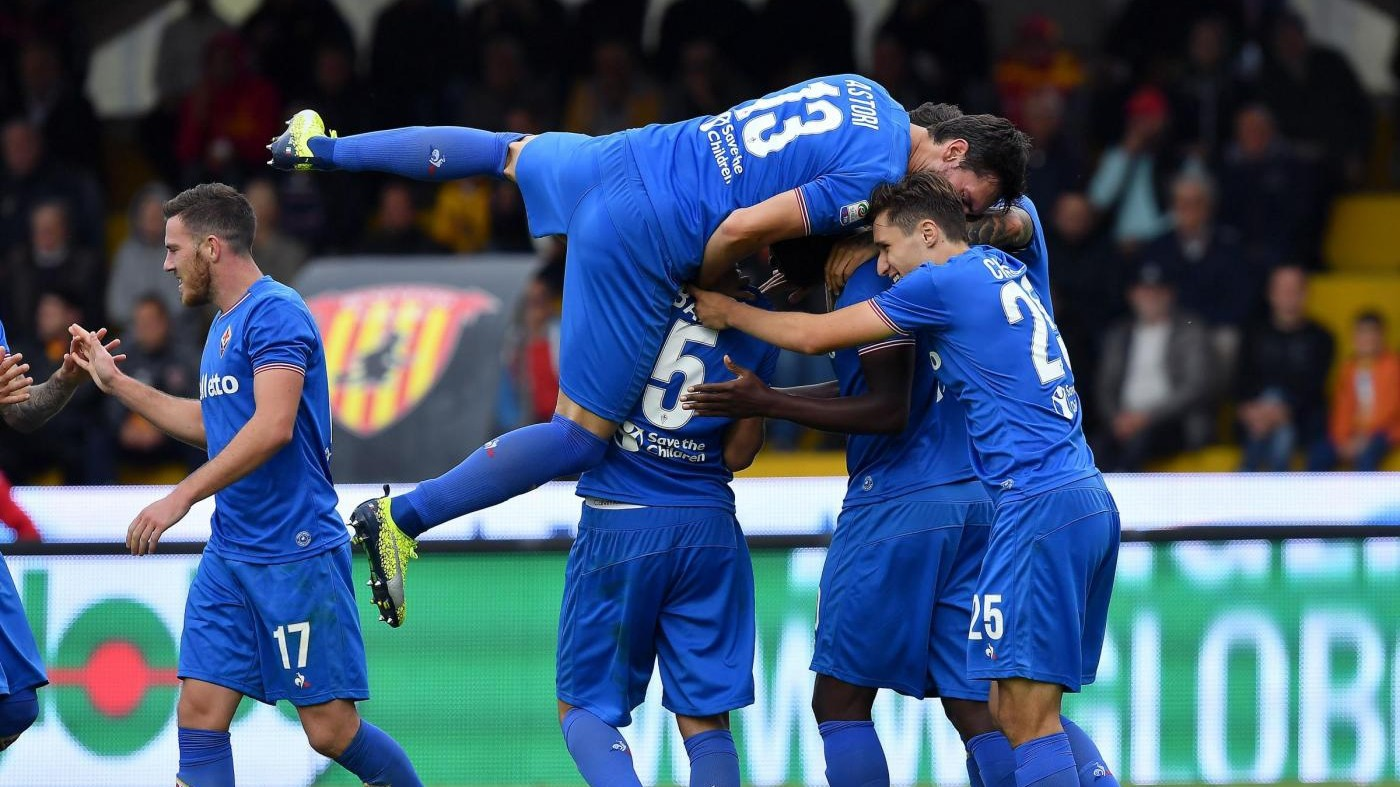 Serie A, Benevento-Fiorentina 0-3 / Il fotoracconto