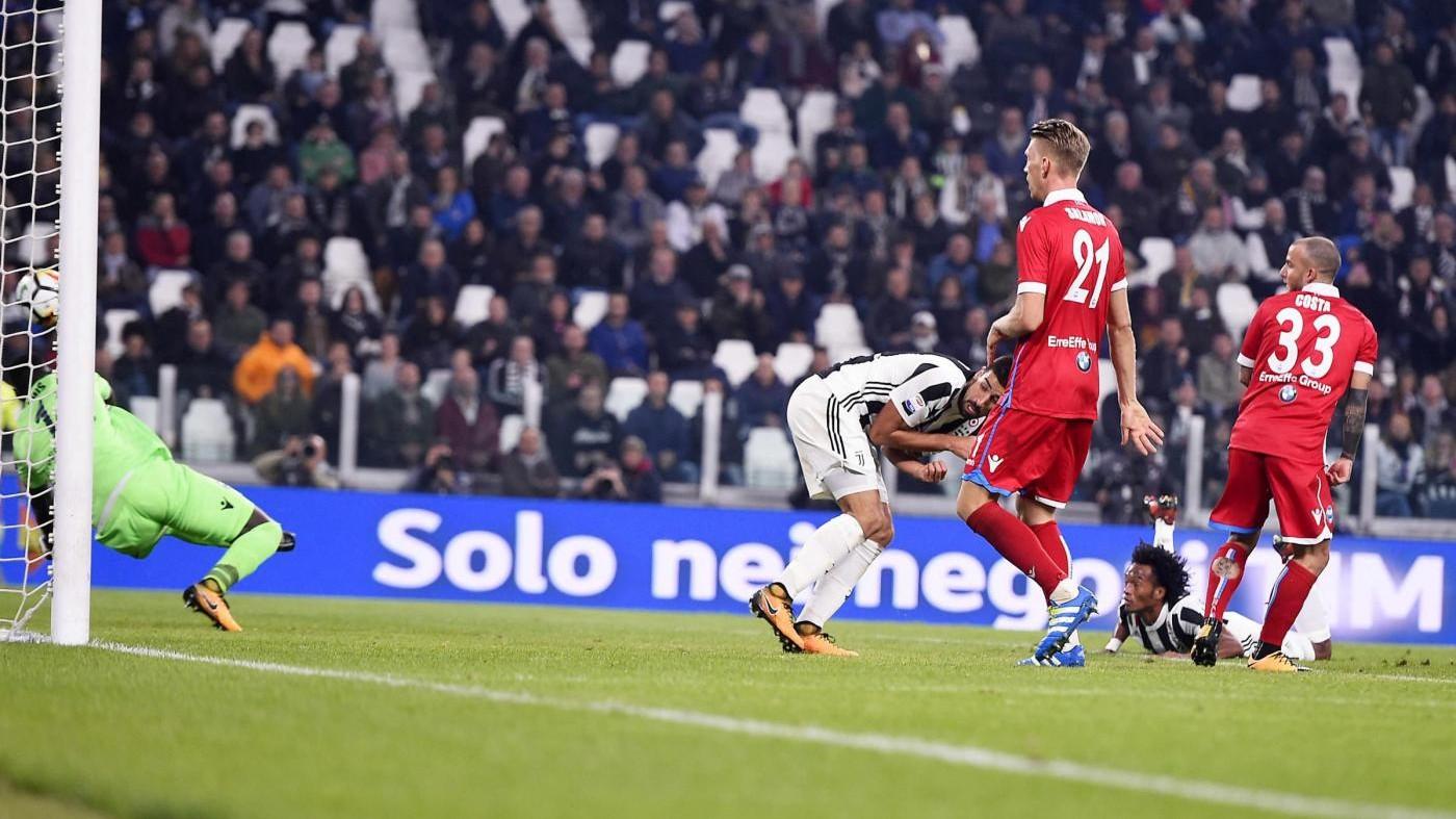 Serie A, Juventus-Spal: 4-1. Poker bianconero