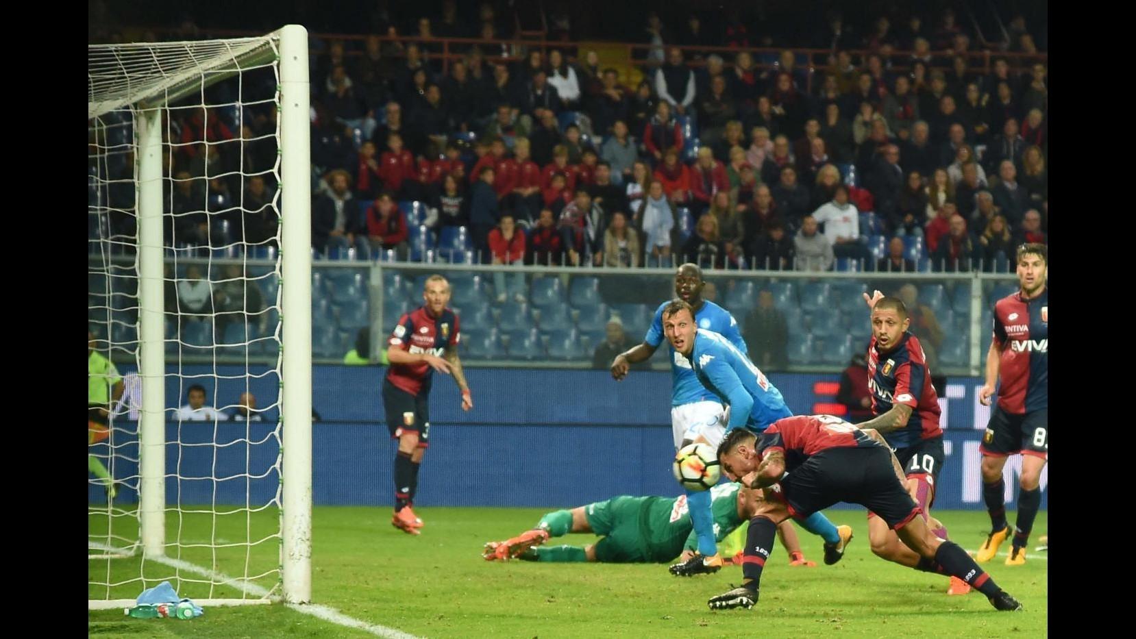 Serie A, Genoa – Napoli 2-3 – IL FOTORACCONTO
