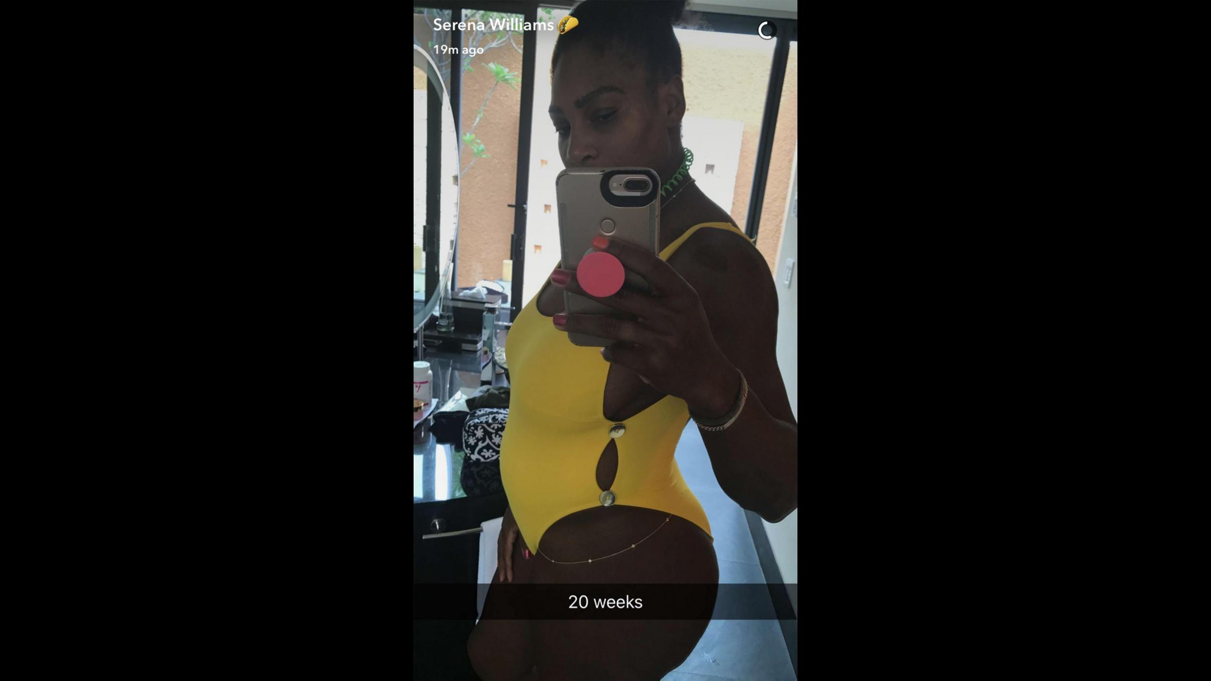 La portavoce di Serena Williams: Incinta, tornerà nel 2018