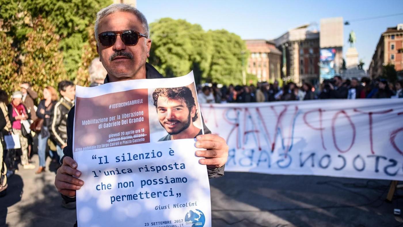 Turchia, Alfano: Del Grande sta bene, ma è in sciopero della fame