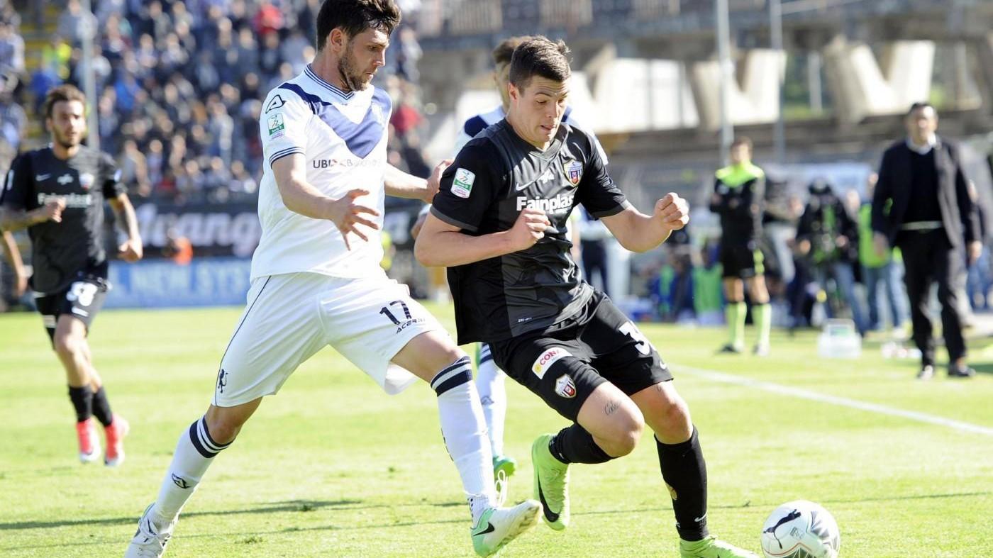 Serie B, reti inviolate tra Ascoli e Brescia