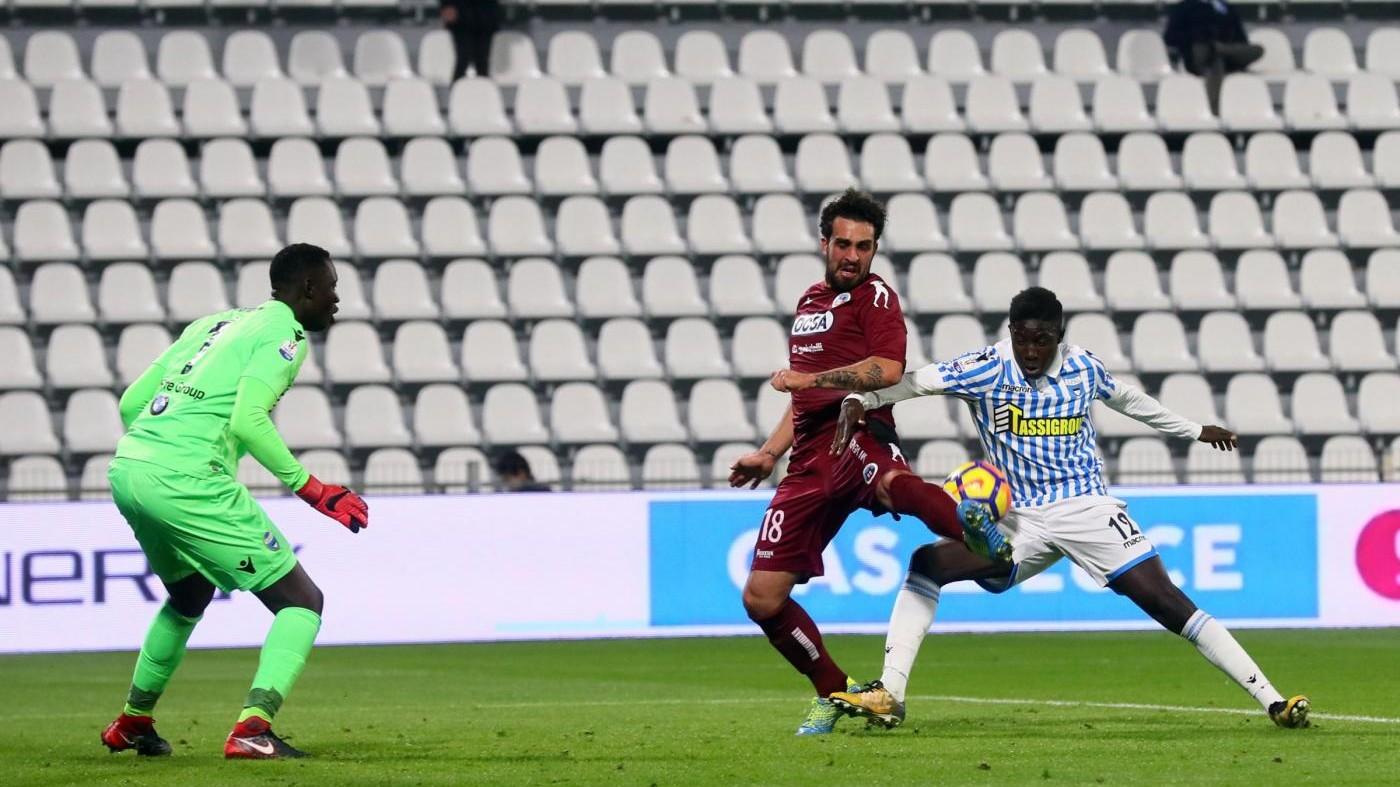 Coppa Italia, Spal ko 0-2, Cittadella agli ottavi contro Lazio