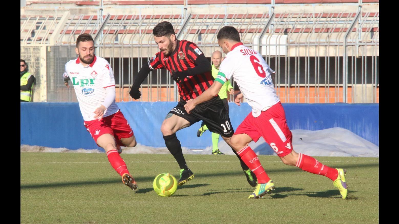 Lega Pro, Pro Piacenza-Piacenza 1-1: il fotoracconto