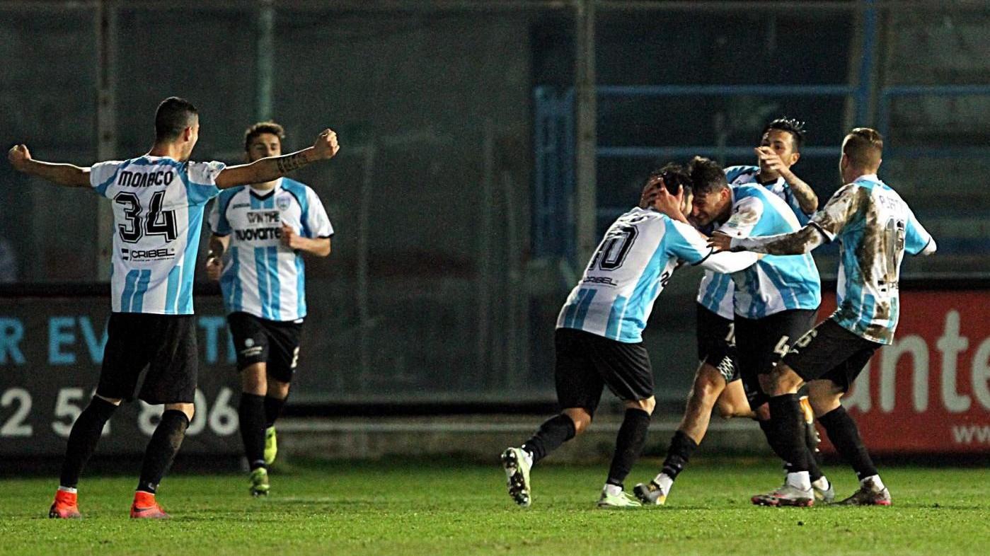 Lega Pro, Virtus Francavilla-Monopoli 2-1: Il fotoracconto