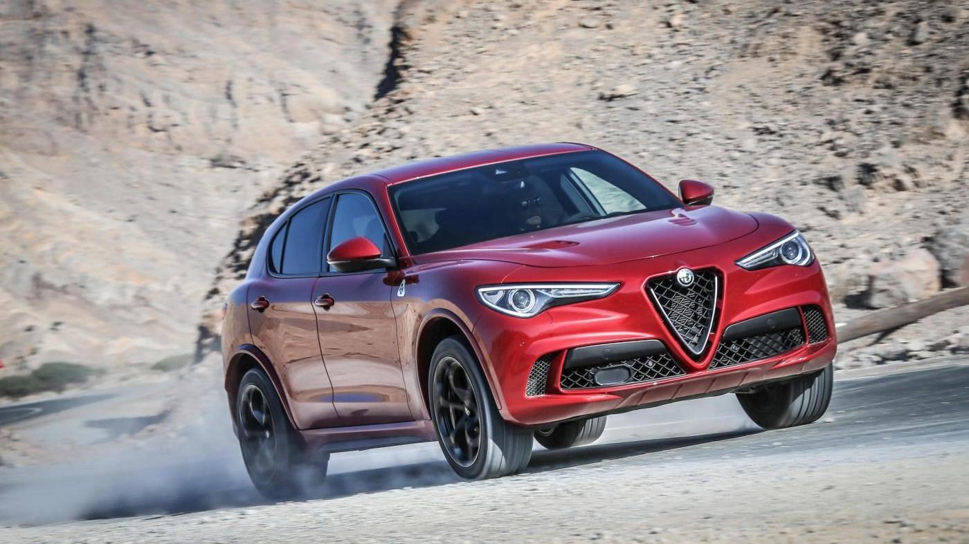Presentata a Dubai l'Alfa Romeo Stelvio Quadrifoglio