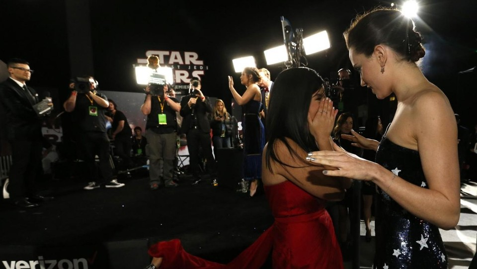 Los Angeles, World Premiere del film  ?Star Wars: The Last Jedi? ©LaPresse/Reuters