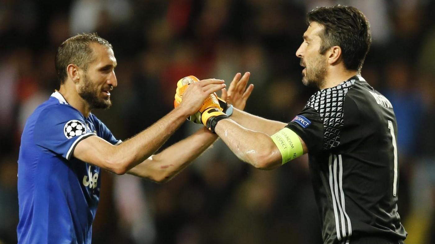 Juve, Chiellini esulta: Cardiff è più vicina, 2-0 fuori è importante