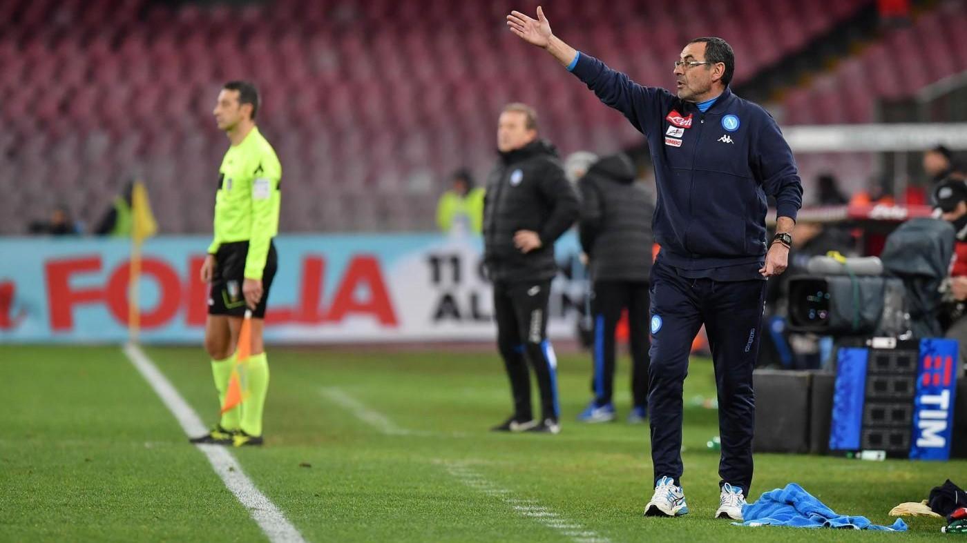 Coppa Italia: Napoli-Atalanta 1-2 – IL FOTORACCONTO
