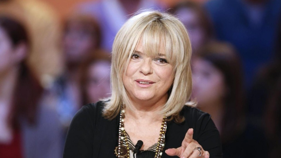"Ospite a ""Le grand journal"" su Tv Canal + nel 2012 ©LaPresse/AFP"