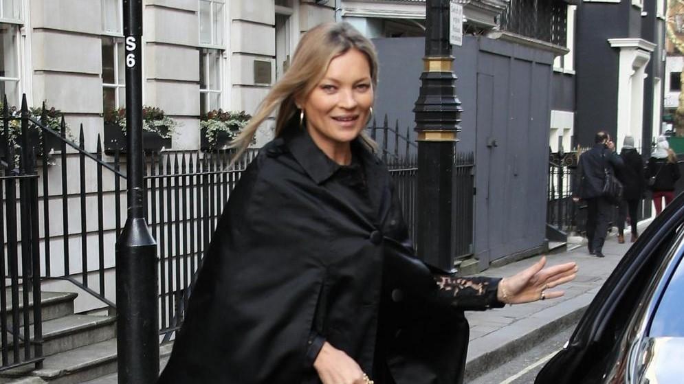 Buon compleanno Kate Moss: a pranzo fuori per festeggiare i 44 anni