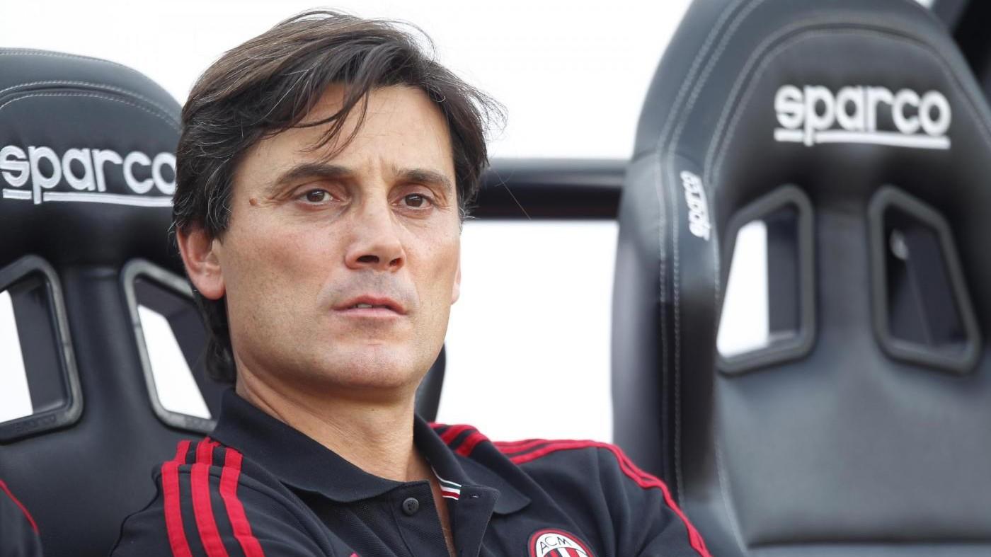 Milan, Montella: Bonucci è il miglior difensore al mondo