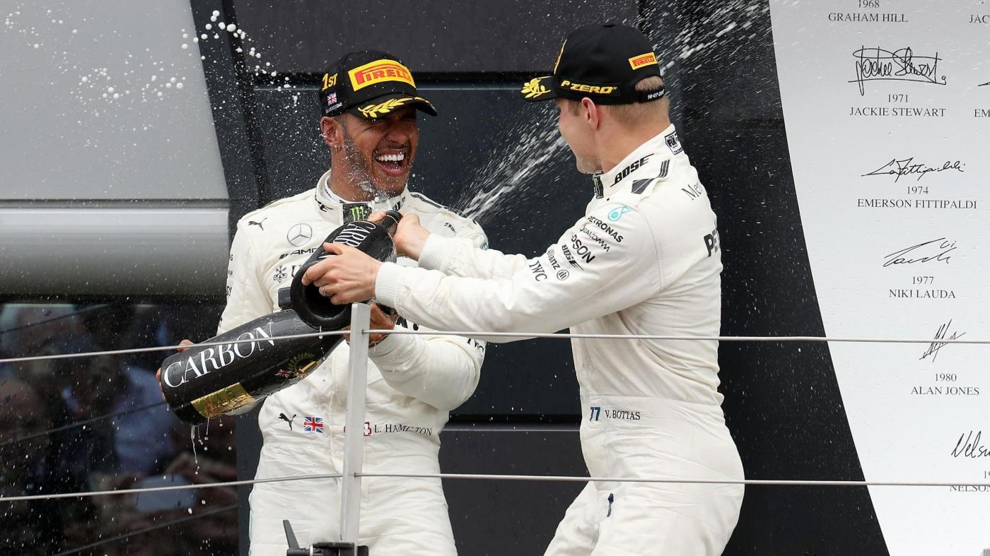 Hamilton e Bottas soddisfatti: Per la Mercedes weekend perfetto
