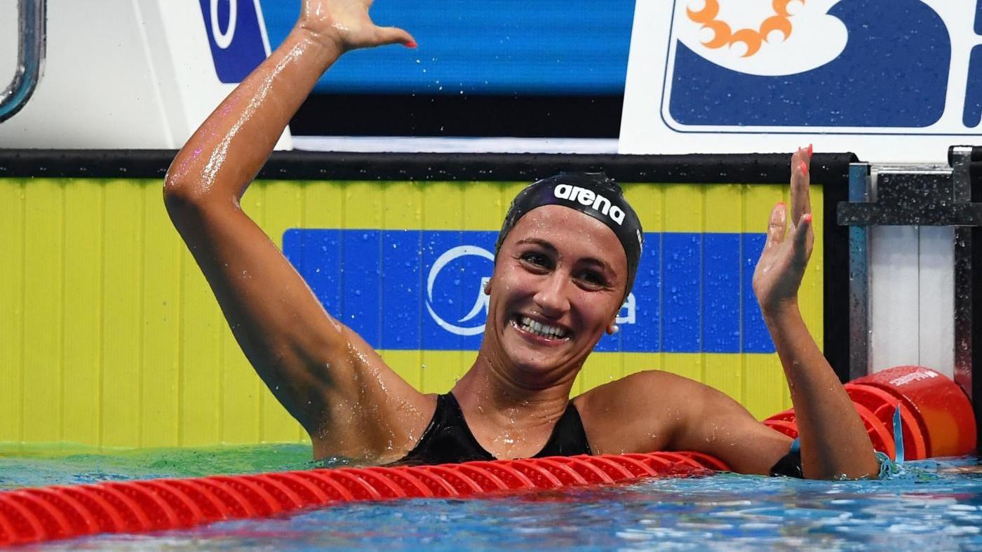 Mondiali Nuoto, Quadarella è bronzo. Pellegrini in finale 200