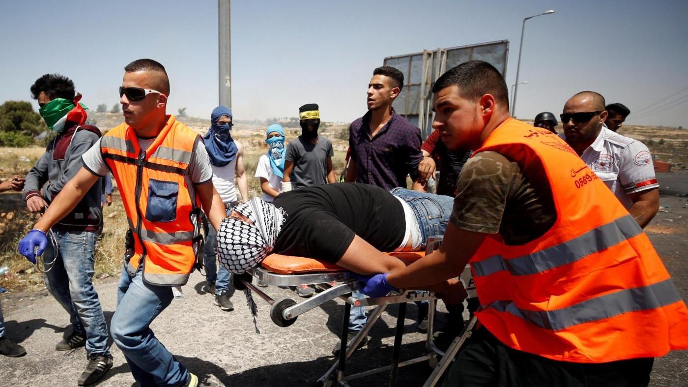 Cisgiordania, ucciso palestinese. Ha attaccato i soldati col coltello