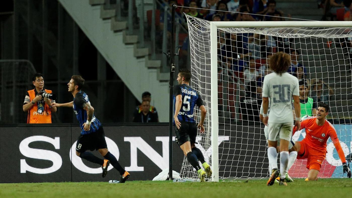 Champions Cup, bella Inter: battuto (2-1) il Chelsea di Conte