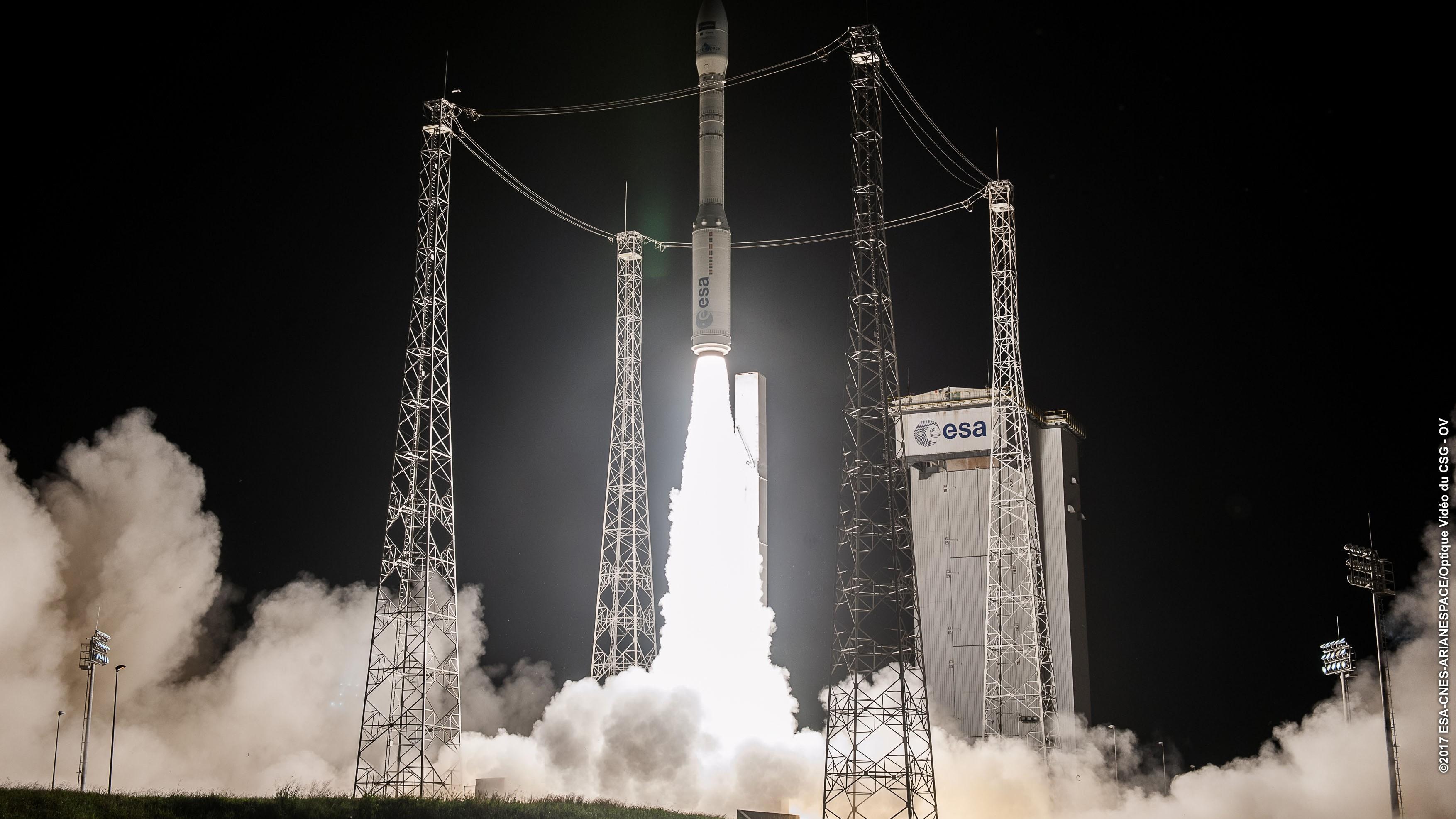 Avio, conclusa con successo decima missione consecutiva di Vega