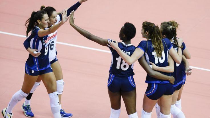 Volley, Grand'Italia con gli Stati Uniti. Ragazze in semifinale