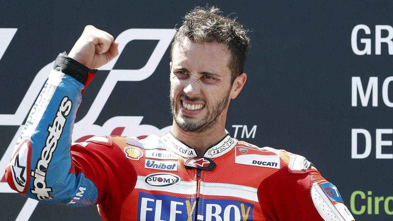 MotoGp, Dovizioso trionfa in Austria davanti a Marquez