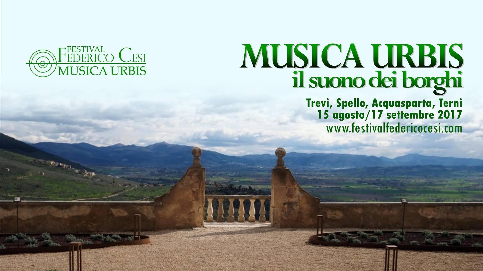 Festival Federico Cesi, il suono dei borghi umbri diventa un concerto