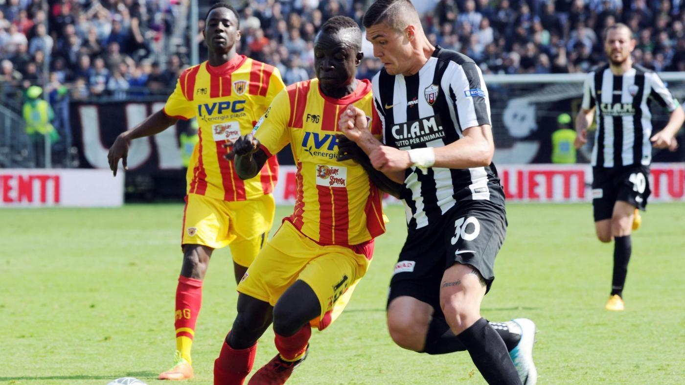 Serie B, l'Ascoli ferma il Benevento: pareggio 1-1