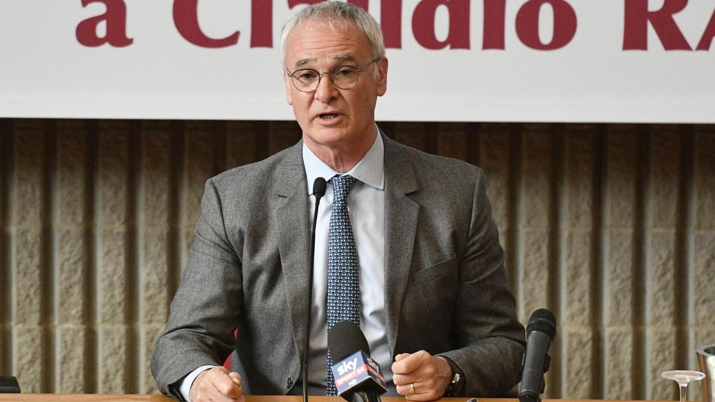 Ranieri: Spalletti va capito ma Totti meritava di entrare