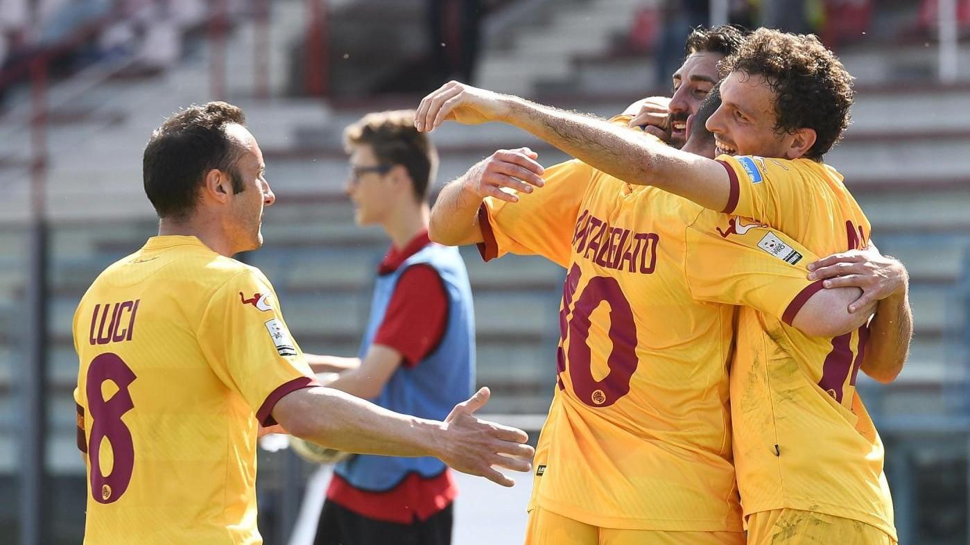 FOTO Livorno corsaro a Piacenza: Pro sconfitta 2-0