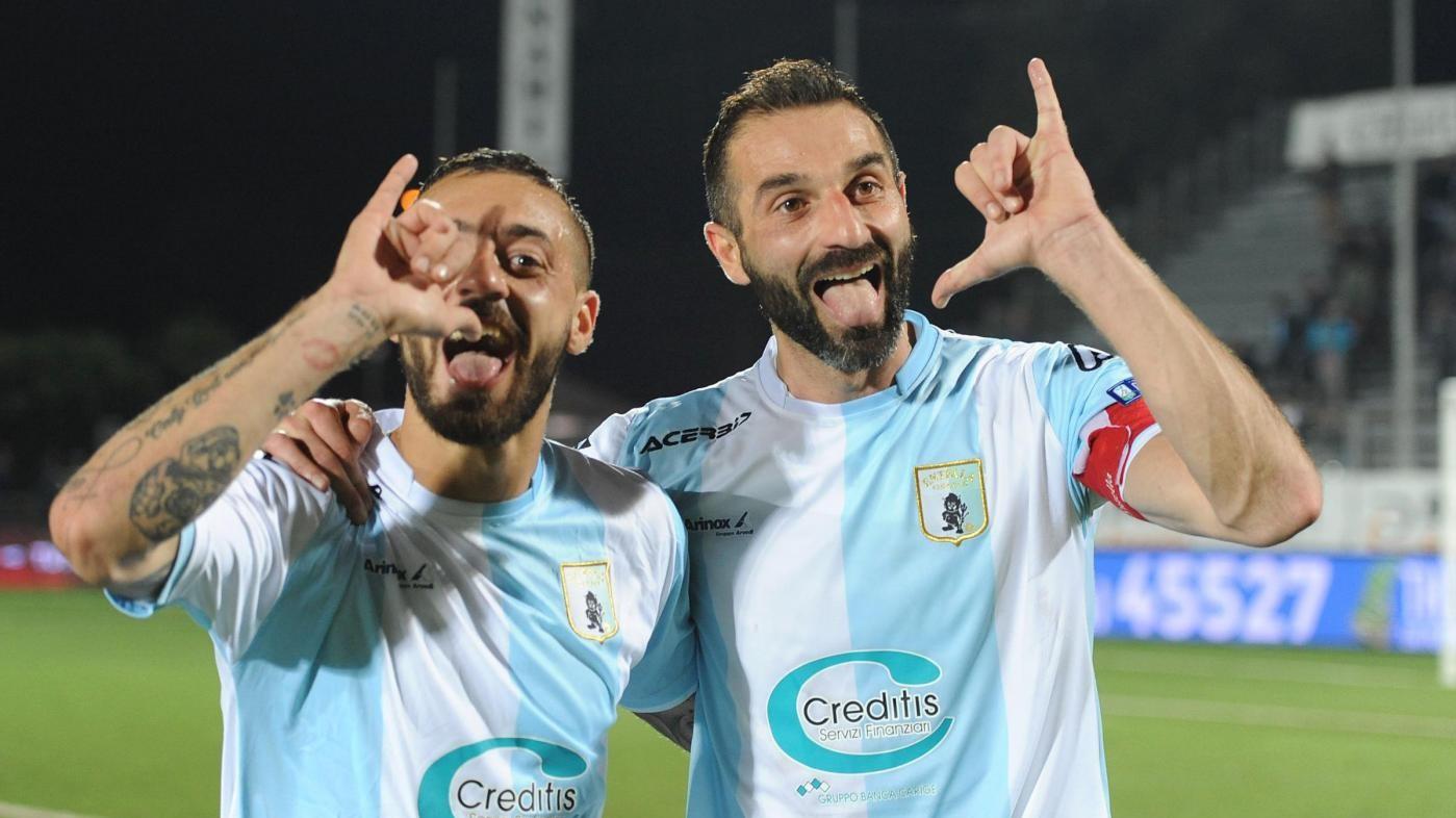 FOTO Serie B, Entella-Ascoli 2-1