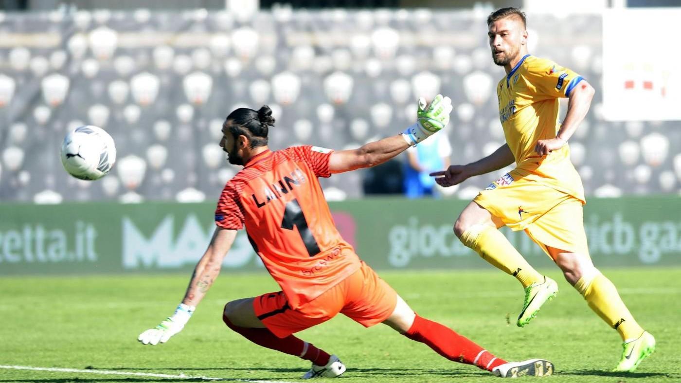 FOTO Serie B, il Frosinone non va oltre l'1-1 con l'Ascoli