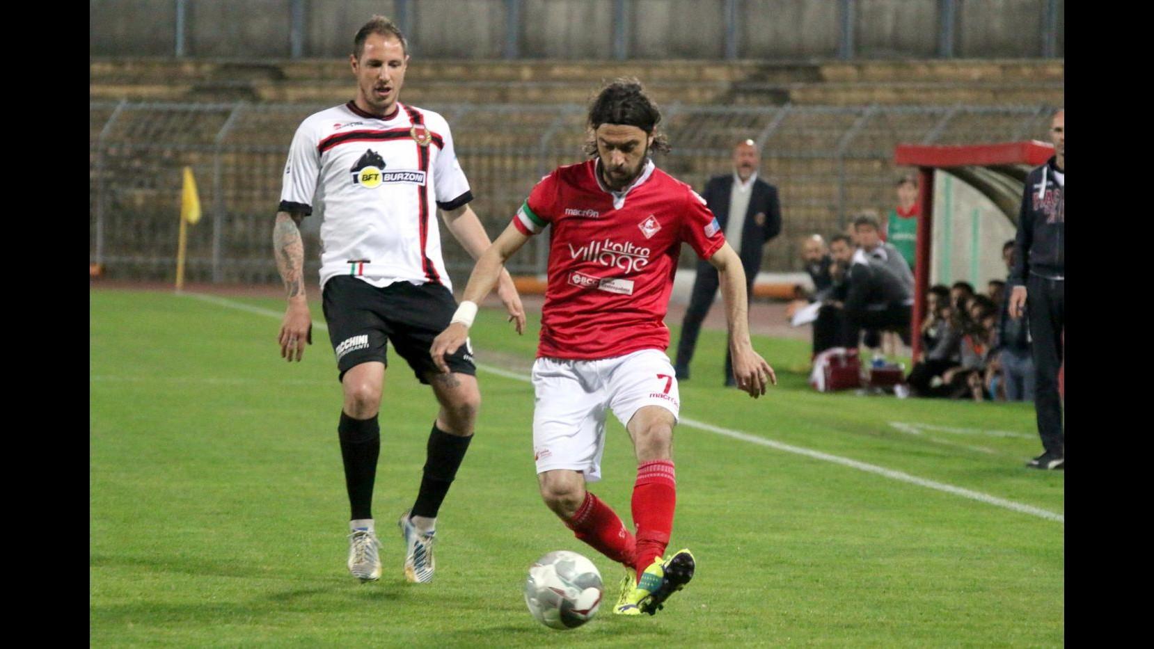 FOTO Lega Pro, il derby Piacenza-Pro Piacenza finisce 4-0