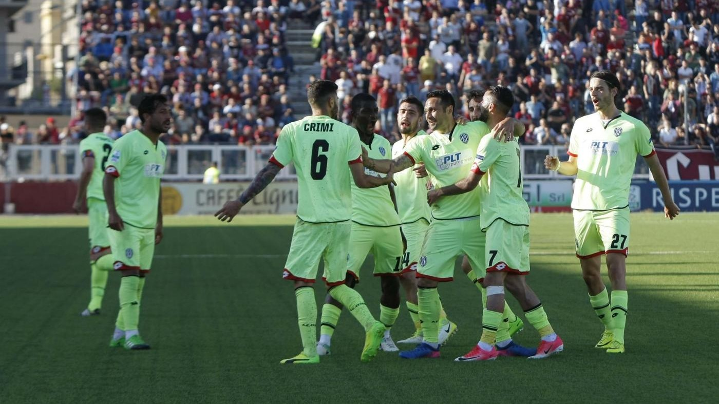Serie B, colpo esterno del Cesena: Trapani ko 2-1