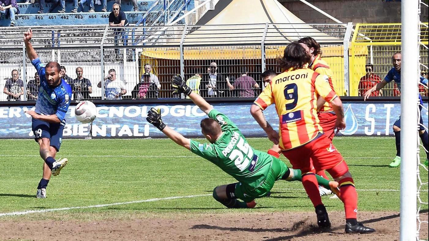 FOTO LegaPro, Matera-Lecce finisce 1-1