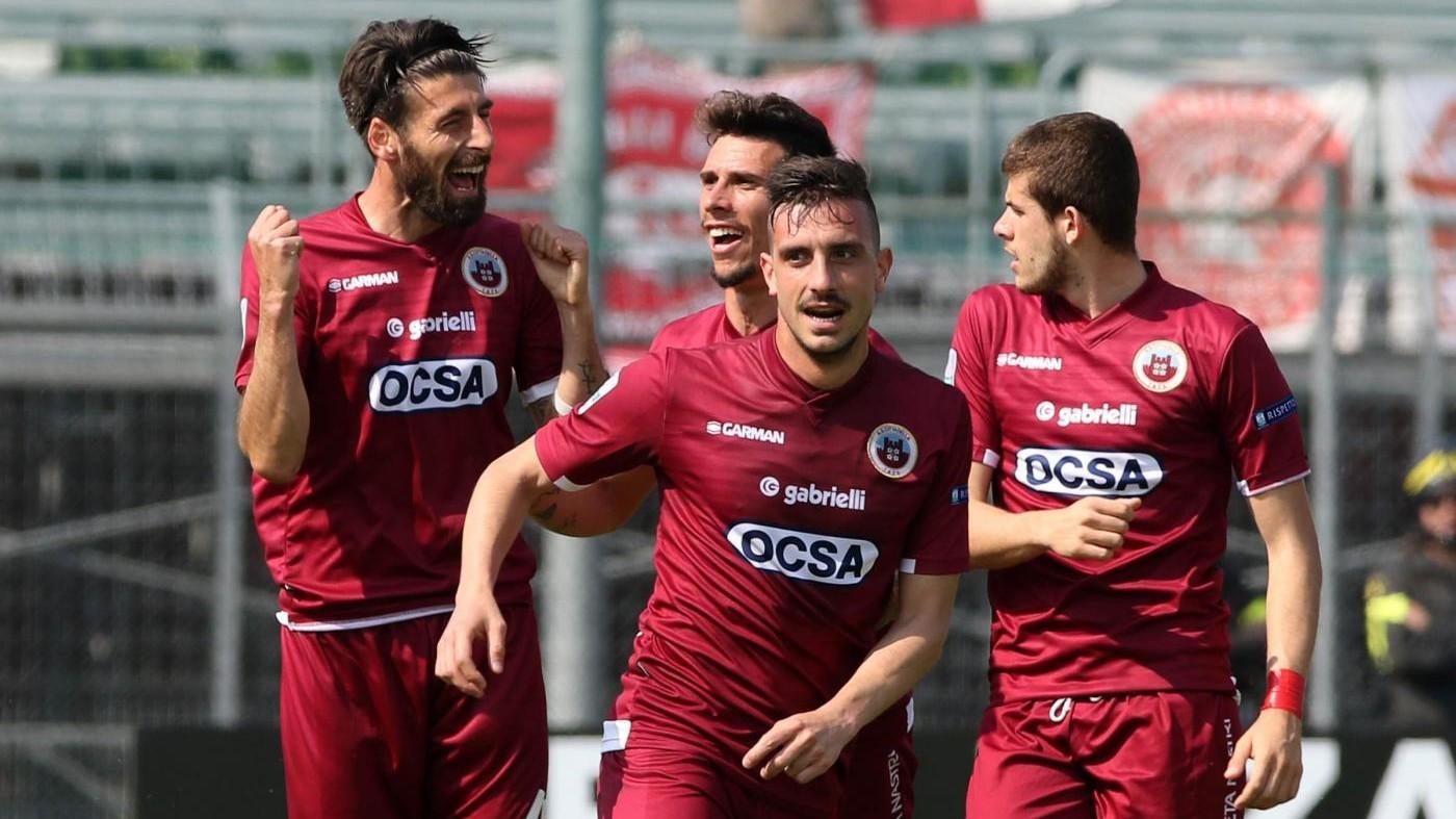 FOTO Serie B, Cittadella-Carpi 4-1