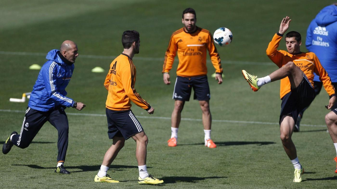 Real Madrid, Zidane: Morata? Non era arrabbiato con me