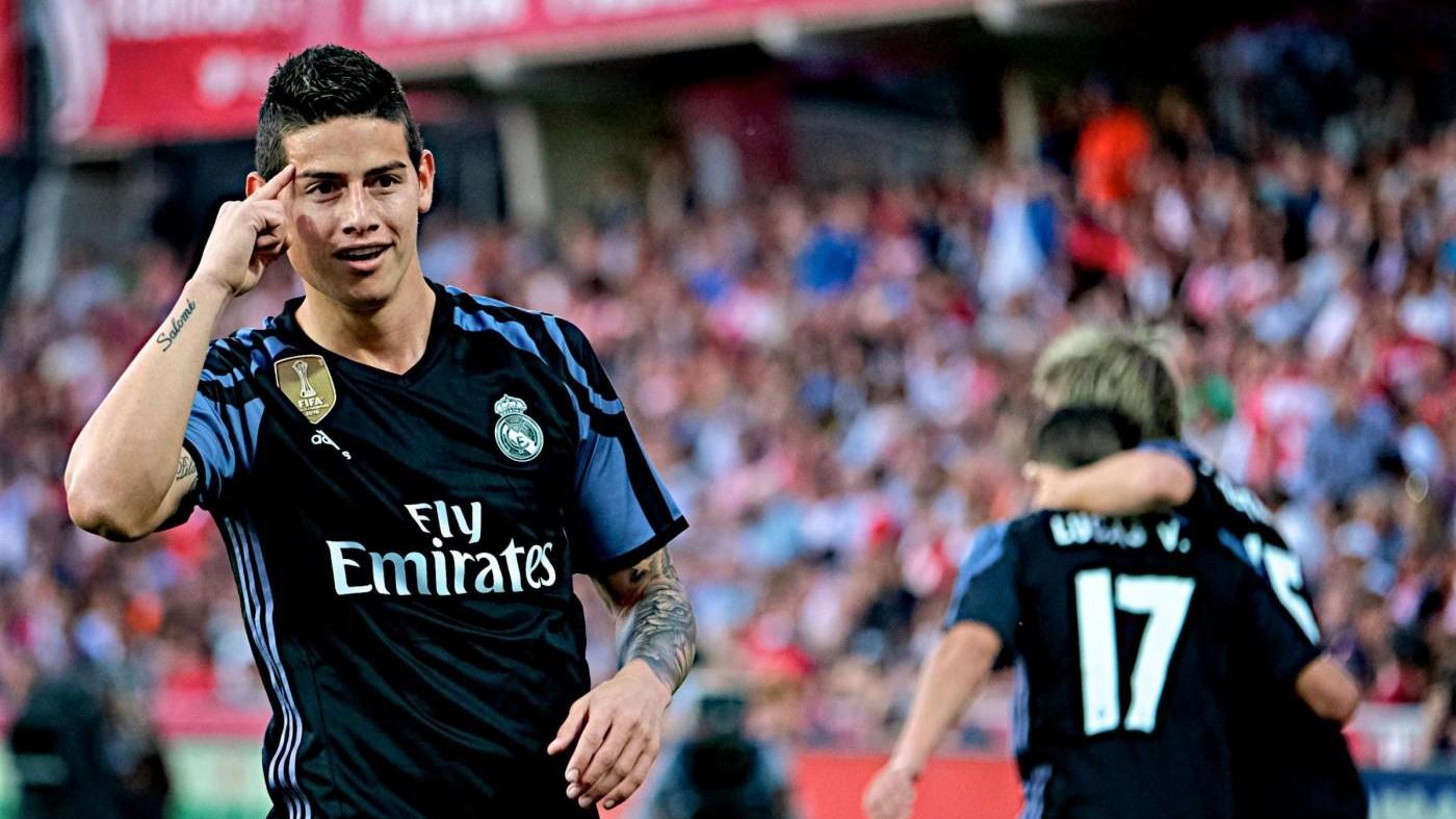 James Rodriguez al Manchester United: accordo raggiunto