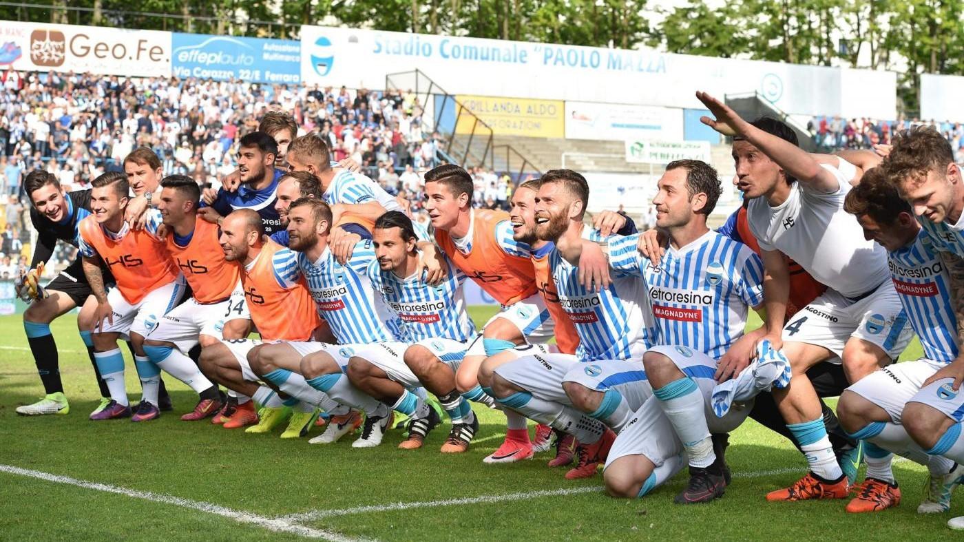 FOTO La Spal sconfigge il Cittadella 2-1