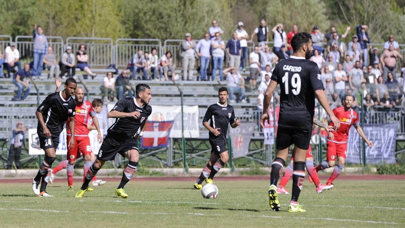 FOTO Lega Pro, solo pareggio per l'Alessandria contro Lupa Roma