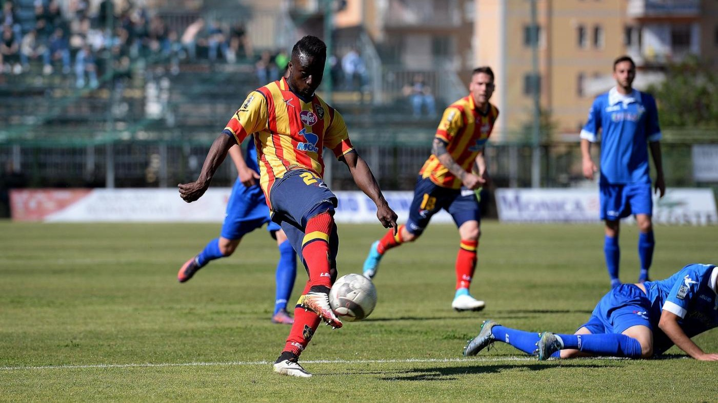 FOTO Lega Pro, Paganese-Lecce termina 1-1
