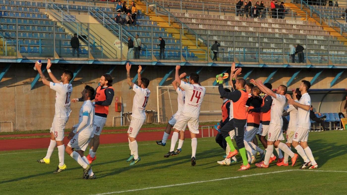 FOTO Lega Pro, Lumezzane-Fano termina 1-2