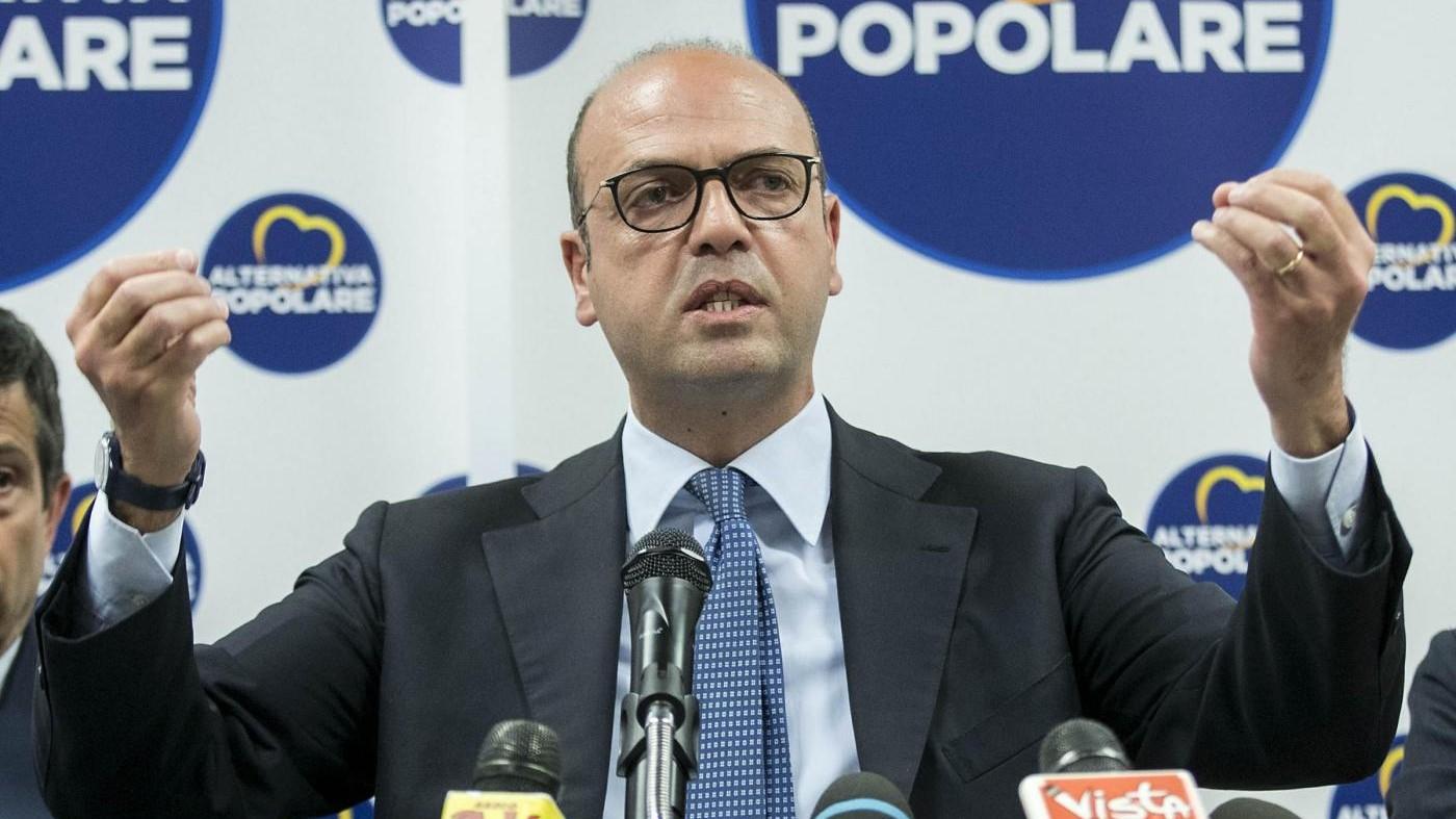 Il ministro Alfano denuncia Gazebo: Mi diffamano da tre anni