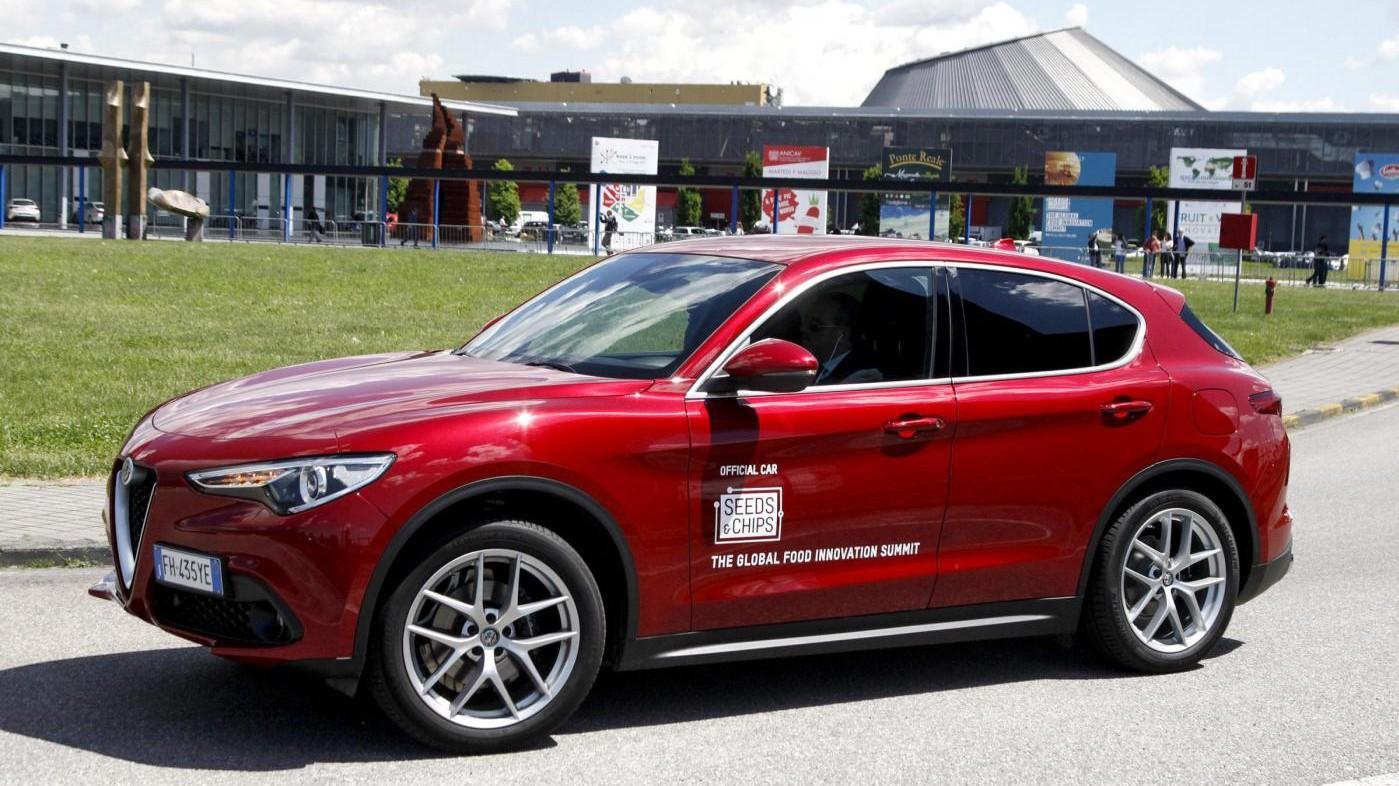 Alfa Romeo Giulia e Stelvio al centro dell'evento 'Seeds&Chips'