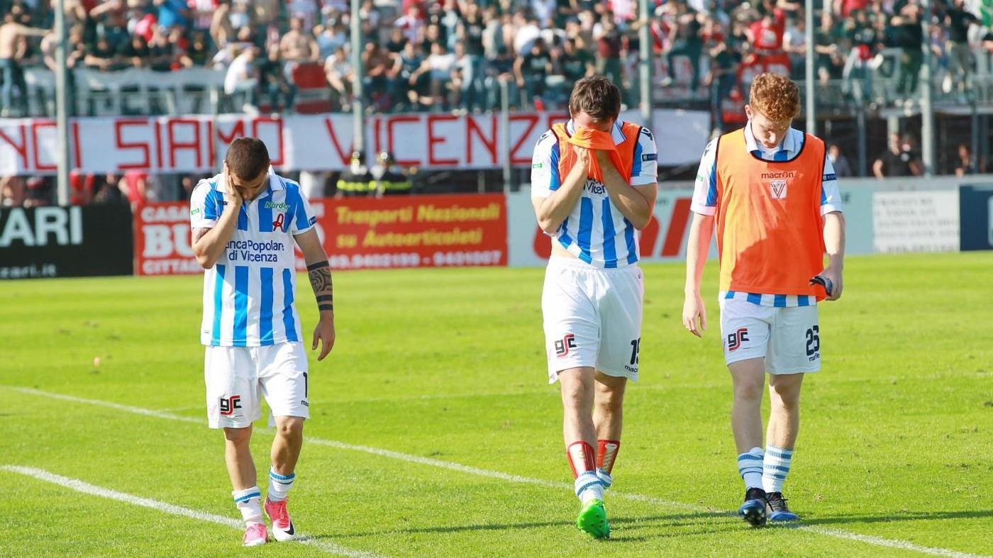 FOTO Serie B, Cittadella-Vicenza 2-0