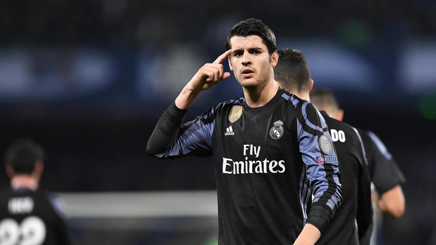 Morata è l'obiettivo numero uno del Milan: pronti 60 milioni