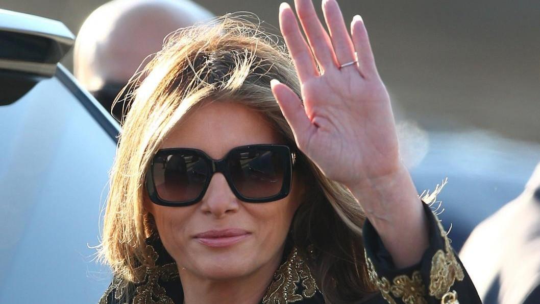 Melania Trump saluta Gentiloni: Appuntamento a Taormina