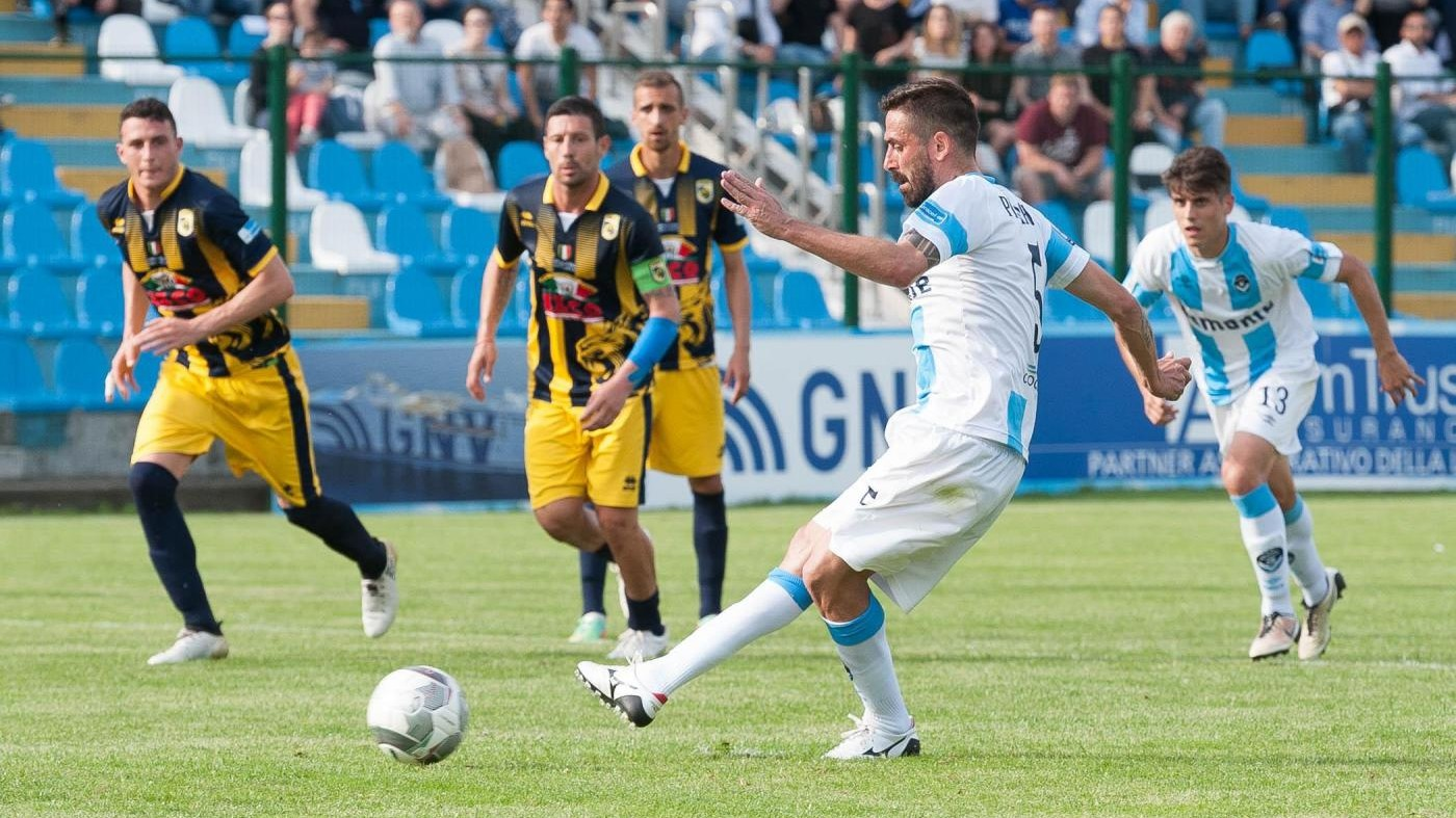 FOTO  Lega Pro Playoff, Giana-Viterbese 2-2
