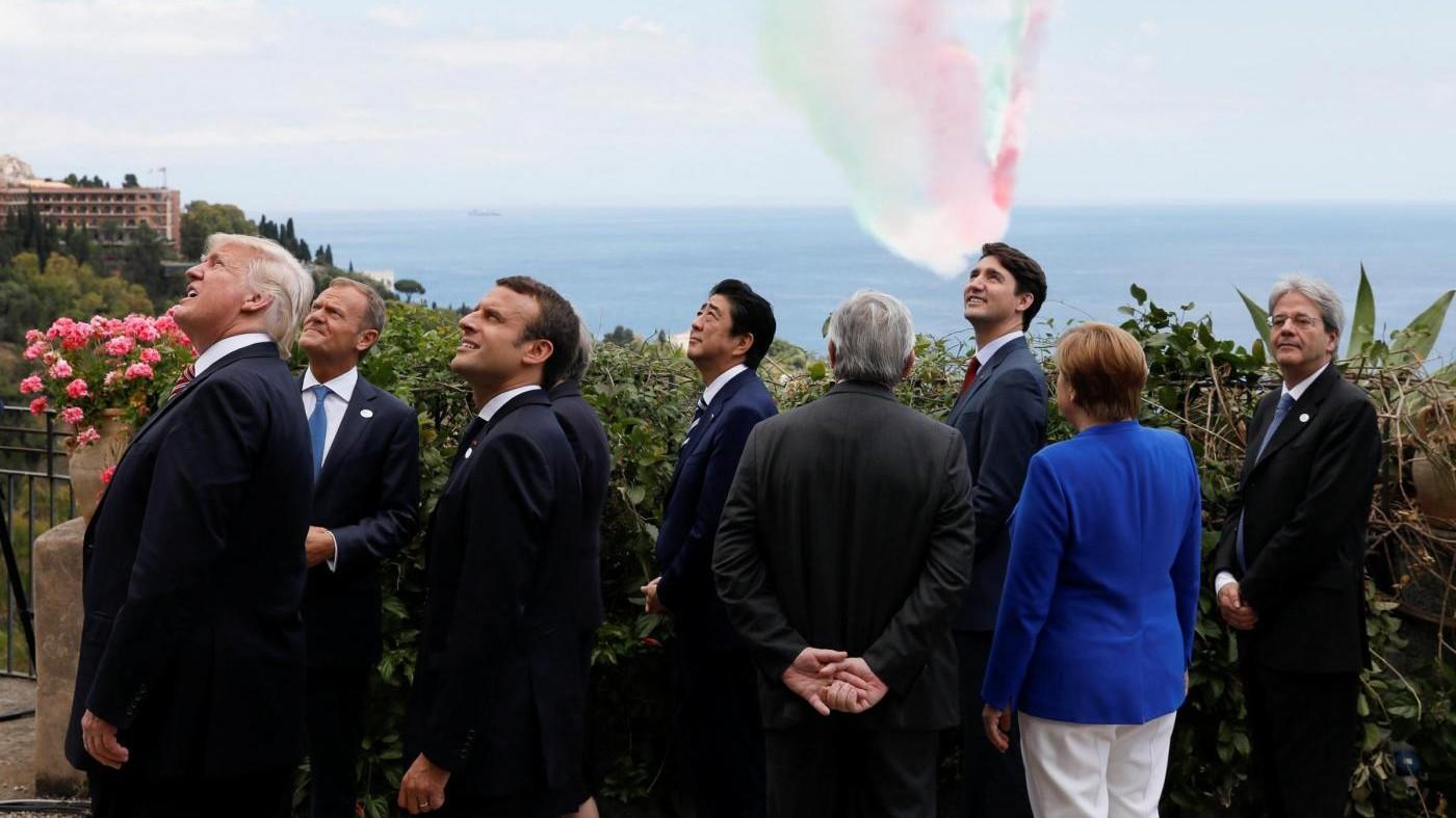 G7 a Taormina, accordo contro il terrorismo ma non sul clima