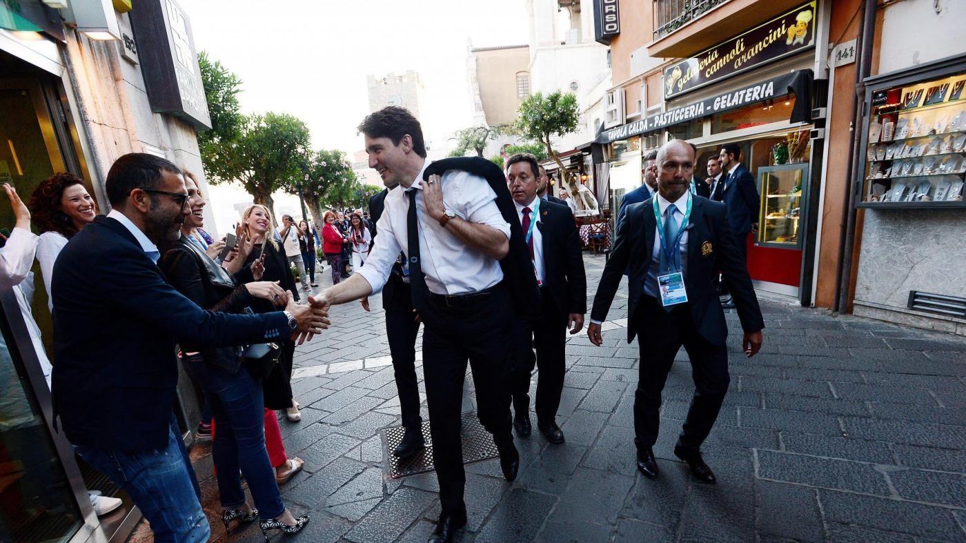 Terremoto, premier canadese Trudeau commosso a Amatrice