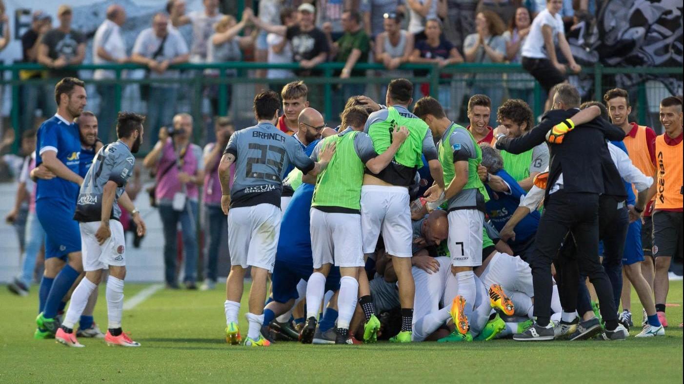 FOTO Lega Pro, Alessandria supera Lecce ai rigori e va in semifinale
