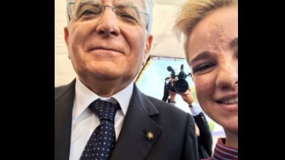 2 Giugno, Bebe Vio posta selfie con Mattarella: Una figata essere italiani